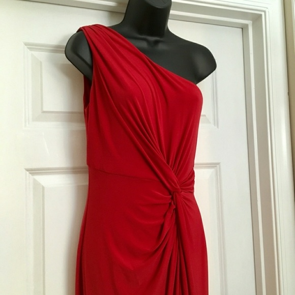 Lauren Ralph Lauren Dresses | Red Formal Evening Dress | Poshmark
